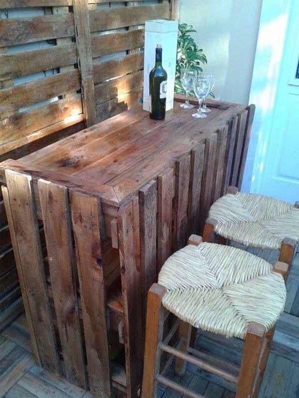 Muebles hechos con palet  cosas para el hogar  Pinterest