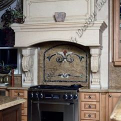 Kitchen Lighting Back Splash Ideas Photos Of Fireplaces High On The Wall | Stone Range Hood ...