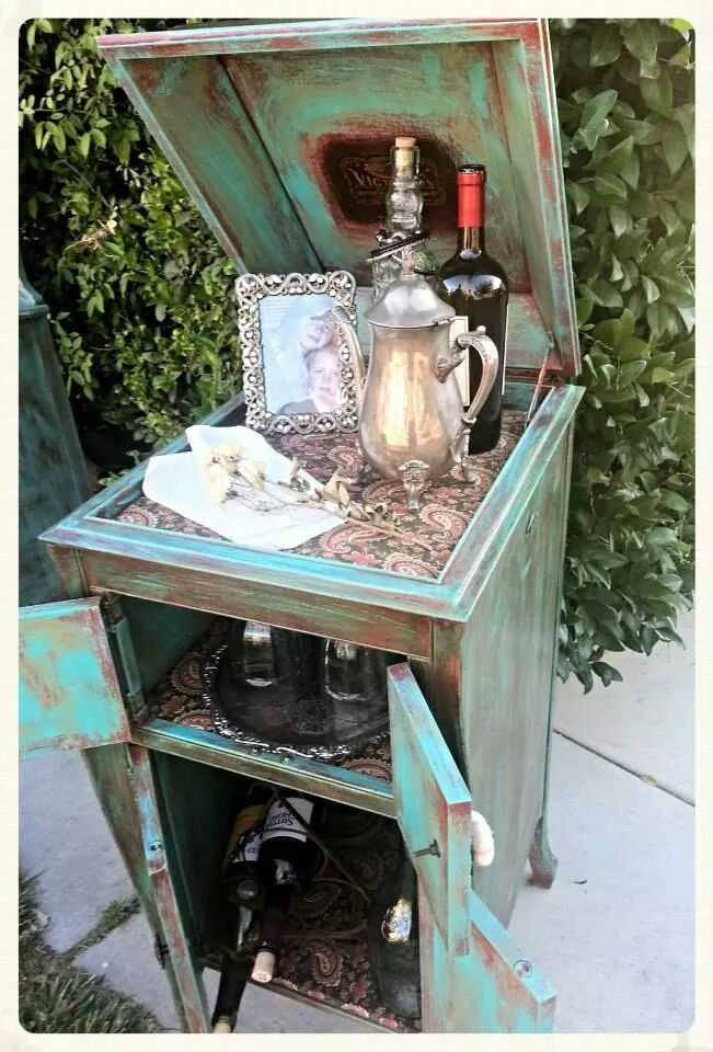 15 Awesome repurposed victrola cabinet images  Furniture