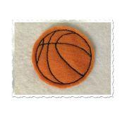 basketball feltie machine embroidery
