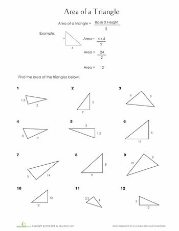 17 Best ideas about Perimeter Of Triangle on Pinterest