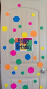 Best 25+ Birthday door decorations ideas only on Pinterest ...