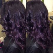 kim's gorgeous dark violet deep