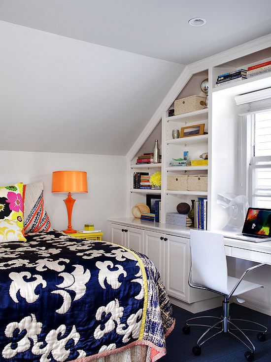 stadium seating couches living room 14 piece set bookshelves built into knee walls - small house interior ...
