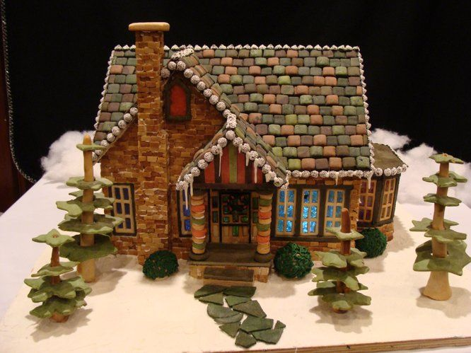 18 Best Gingerbread House Images On Pinterest