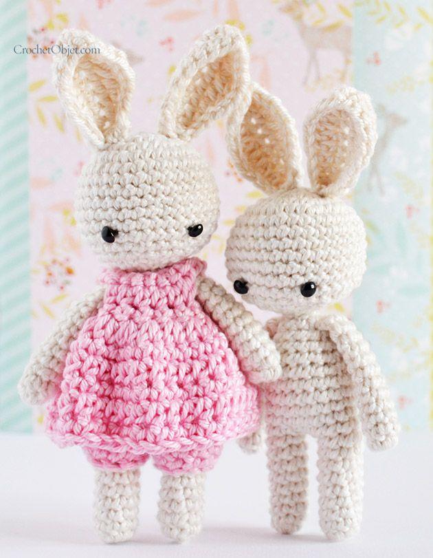 A stepbystep crochet pattern  baby bunny ears