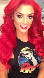 vibrant red hair ideas