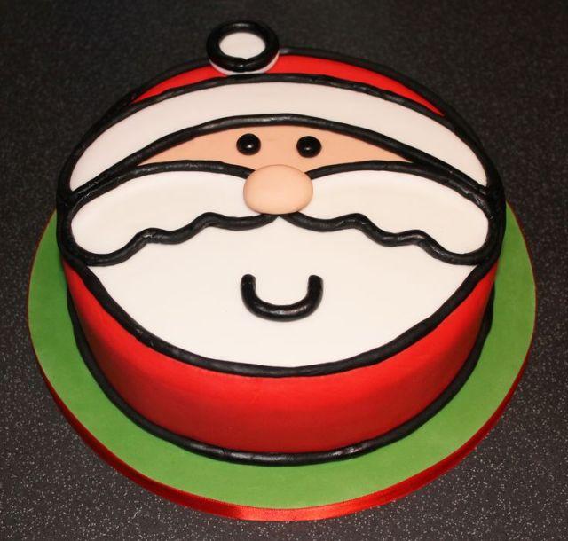 07436ae47c3c4fc8cfadffe2edb5a9bb - 10 decorações de bolos para o natal....