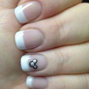 simple disney nail design