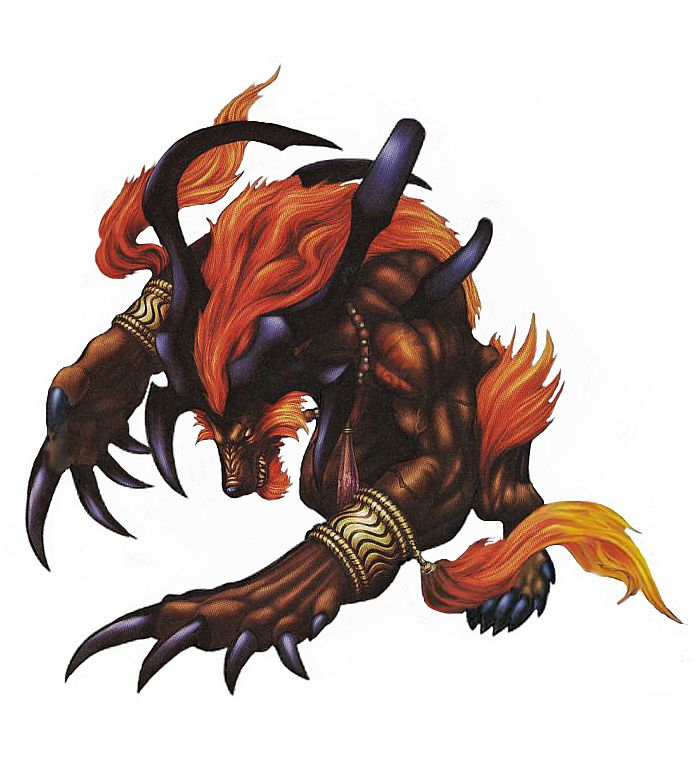 Final Fantasy X FFX Ifrit Summon My Favorite Summon But