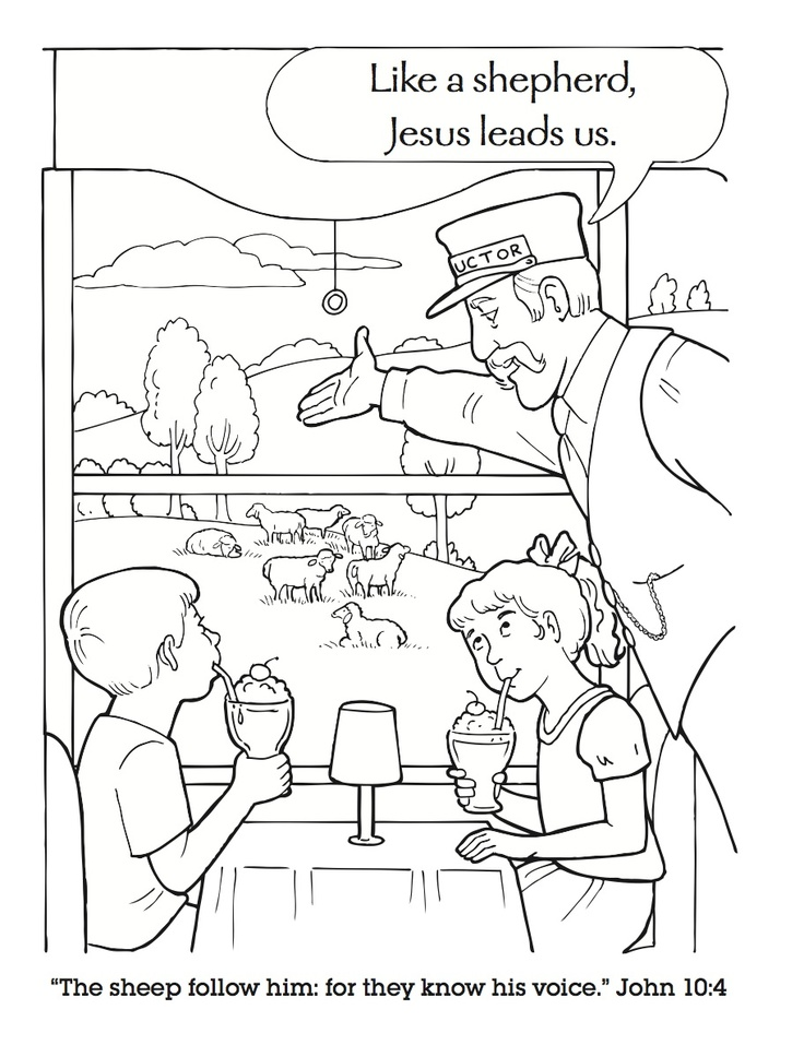 Admit Believe Confess Coloring Sheet Coloring Pages