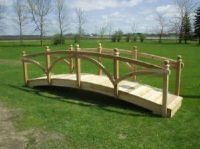 Backyard Bridges | Garden bridges, pond bridges, wooden ...