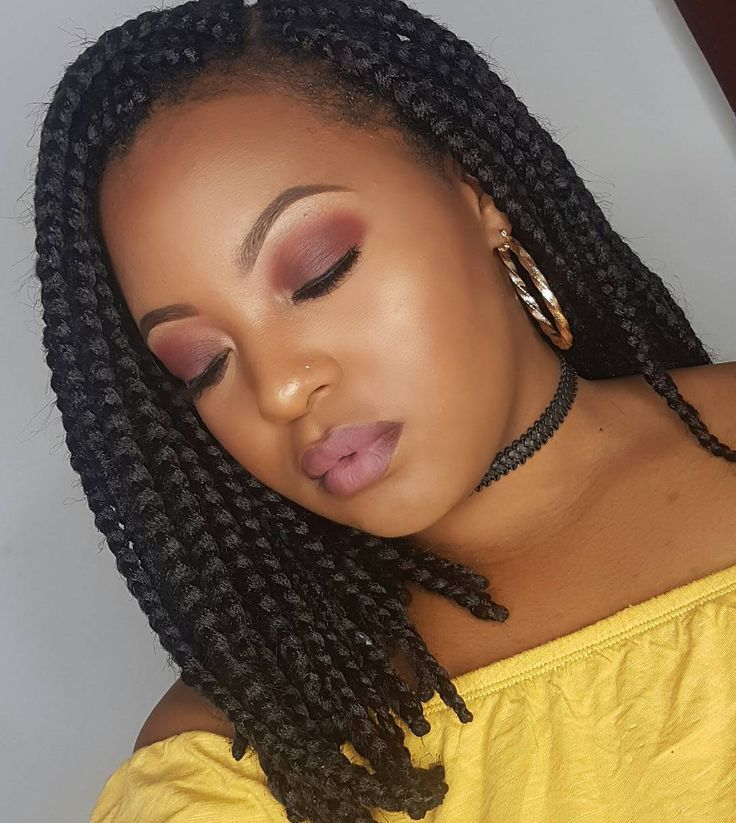 25+ best ideas about Short box braids hairstyles on
