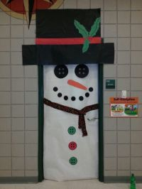 Classroom door decore idea! Frosty the Snowman ...