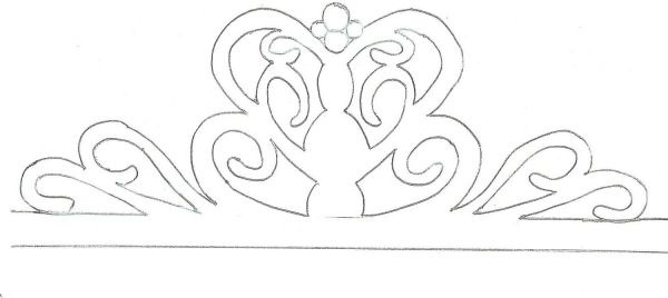 1000+ images about Templates for Tiaras & Crowns on