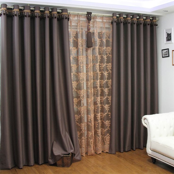 Best 25 Extra Long Curtains ideas on Pinterest  Inexpensive curtains Long curtains and Long
