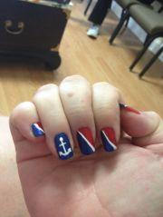 carnival cruise nails nautical