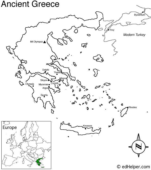 Greece Map Test