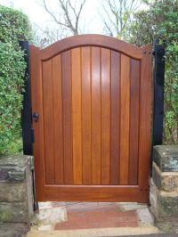 Wood Fence Door Design