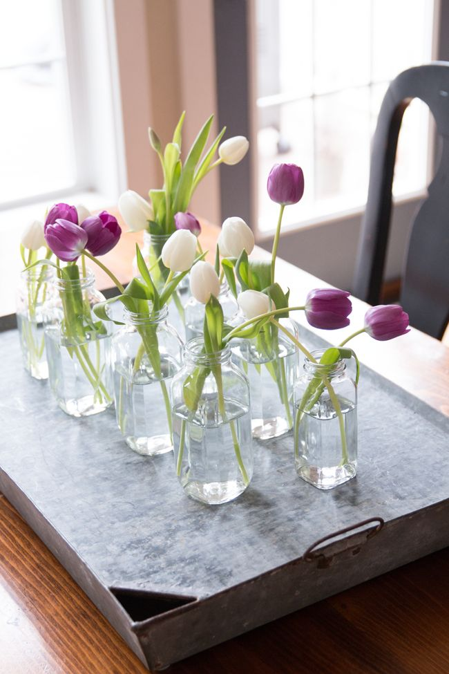 office chair video game twin hide a bed spring tulip centerpiece - quick, inexpensive and it involves my favorite color – galvanized ...
