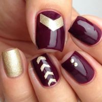 17 Best ideas about Maroon Nails on Pinterest | Fall nails ...