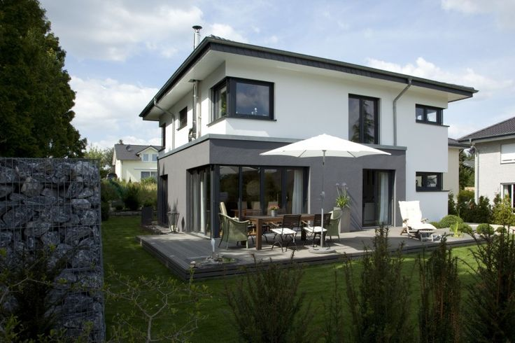 Fassadengestaltung Modern Pultdach Haus Deko Ideen Startseite