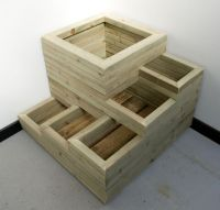 25+ best ideas about Wooden Planters on Pinterest   Wooden ...