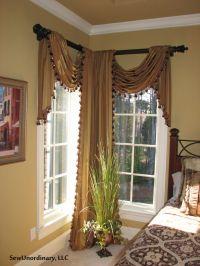 25+ best ideas about Bay window curtain rod on Pinterest ...