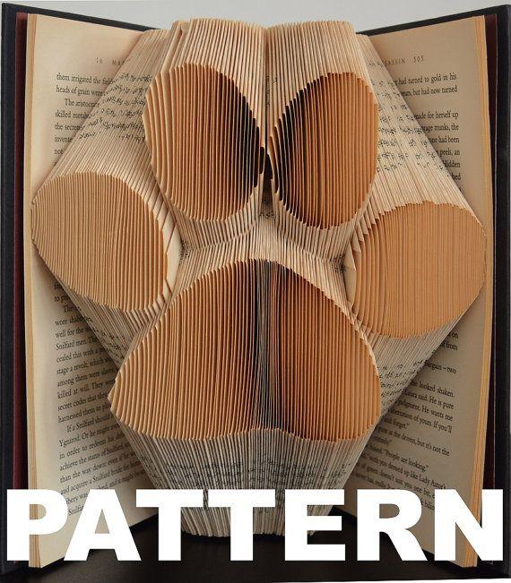 best 25 book folding