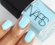 gorgeous eggshell blue #nails