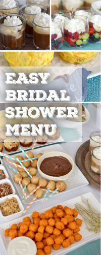 bridal shower food ideas - DriverLayer Search Engine