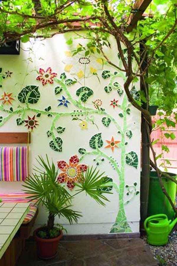 25 Best Ideas About Outdoor Wall Art On Pinterest Patio Wall