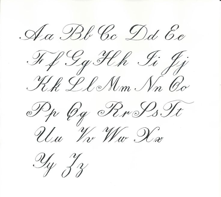 Calligraphy Letter Charts Calligraphy LettersCalligraphy