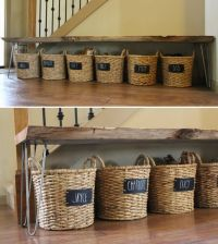 25+ best ideas about Shoe basket on Pinterest | Front ...