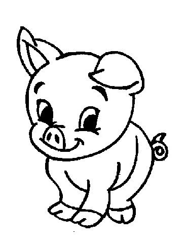 Farm Coloring Pages Baby Farm Animals Coloring Pages Kids