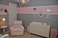 Baby Room - Pink & Grey | Nursery ideas | Pinterest | Baby ...