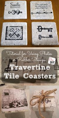 25+ best ideas about Tile coasters on Pinterest | Homemade ...