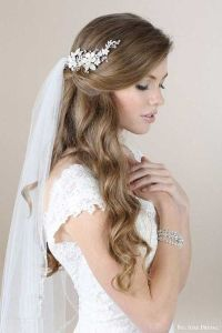 17+ best ideas about Wedding Hairstyles Veil on Pinterest