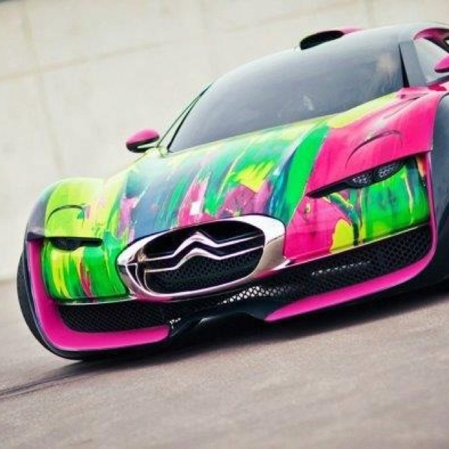Or How About This Cool Circuit Board Car As Car Paint Jobs Go This Is