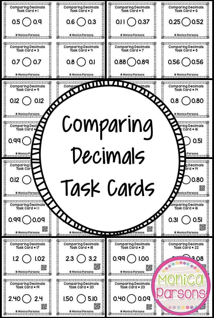 Best 25+ Comparing Decimals ideas that you will like on