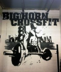bighorn crossfit Crossfit Mural 2013 | wall art ...