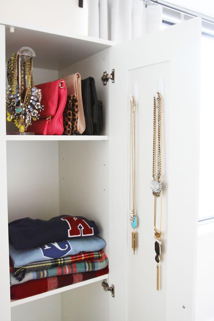 Brimnes Ikea Wardrobe For A Studio Apartment Via Ashley