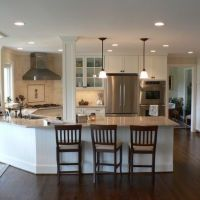 1000+ ideas about Kitchen Peninsula on Pinterest | Country ...