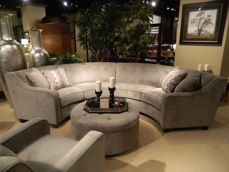 1000 images about round couches on Pinterest  Italian leather Curved sofa and Contemporary sofa