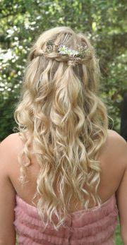 bohemian princess hair- braided