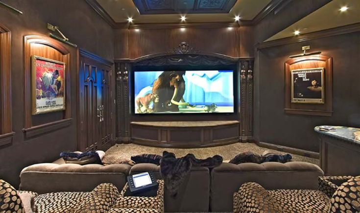 17 Best images about High End Home Theater Interiors on