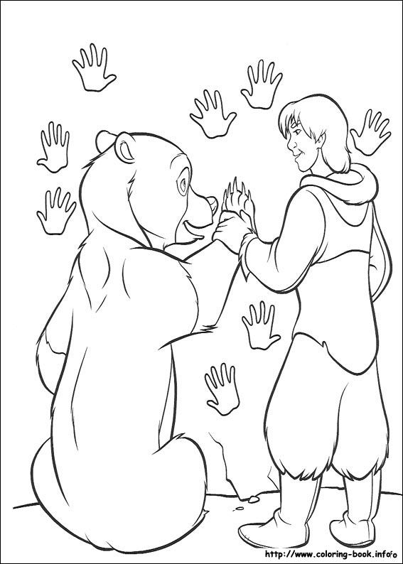 1000+ images about Disney Brother Bear coloring pages
