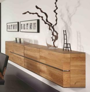 Wohnzimmer Sideboard Eiche Massivholz 3 - Planbois