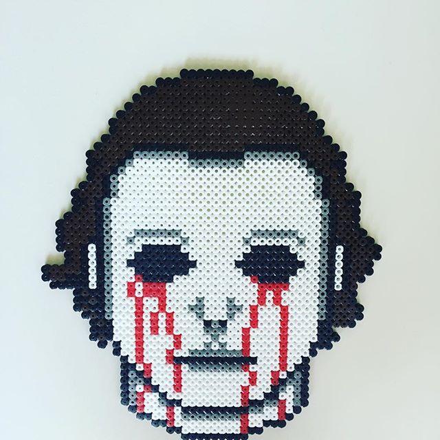74 Best Horror Movies Pixel ArtPerler Beads Images On