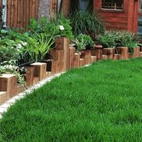 25+ best ideas about Landscape timber edging on Pinterest ...